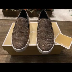 Michael Kors slip on shoes